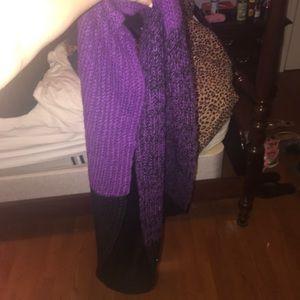 Calvin Klein Knit Infinity Loop Scarf